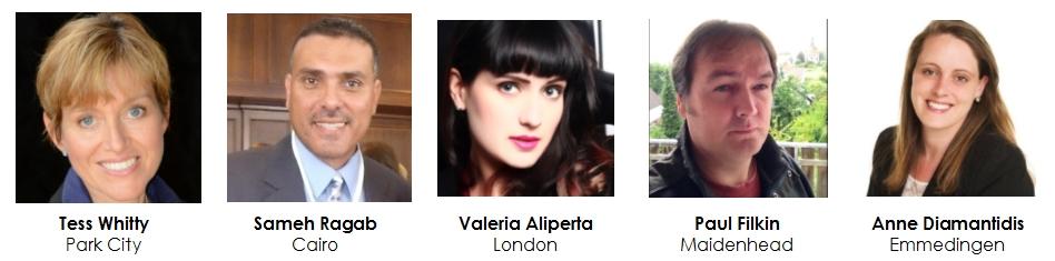 Tess Whitty / Sameh Ragab / Valeria Aliperta / Paul Filkin / Anne Diamantidis