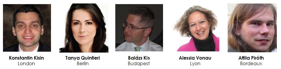 Konstantin Kisin / Tanya Quintieri / Balázs Kis / alessia Vonau / Attila Piróth