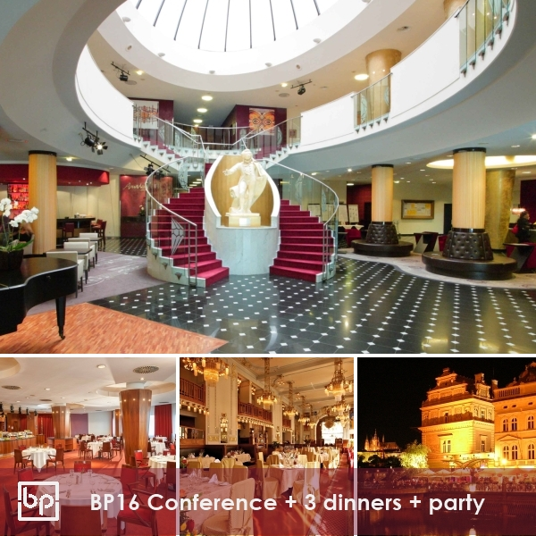 BP16 Translation Conference Prague + 3 dinners - 15-16 April 2016