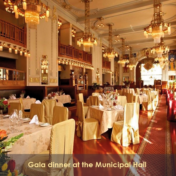 BP16 Translation Conference Prague - Gala dinner at the Municipal Hall - 15 April 2016