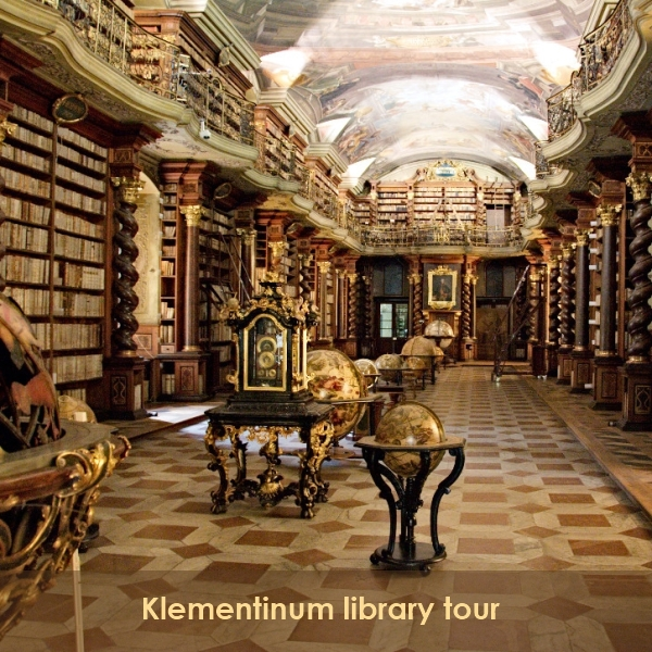 BP16 Translation Conference Prague - Klementinum library tour